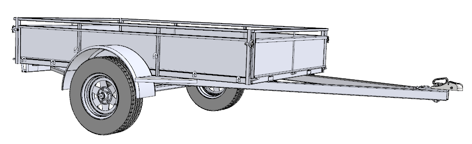 single axle trailer wire diagram - 28 images